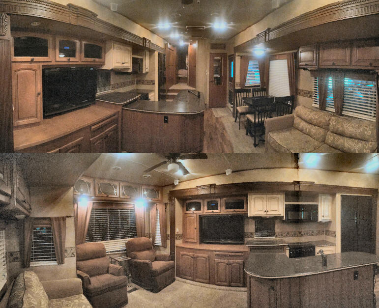 Inside 5th Wheel Camper Gallery